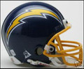 San Diego Chargers 1974-87 Throwback Mini Replica Helmet