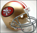 San Francisco 49ers 1964-95 Full Size Replica Throwback Helmet