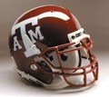 Texas A and M Aggies Full Size Authentic Schutt Helmet