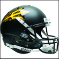 Arizona State Sun Devils Full XP Replica Football Helmet Schutt Black