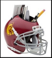USC Trojans Helmet Desk Caddy
