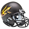 Arizona State Sun Devils Schutt XP Matte Black Mini Helmet