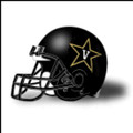Vanderbilt Commodores Authentic College XP Black Football Helmet