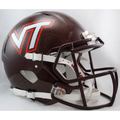 Virginia Tech Hokies Authentic Speed Helmet