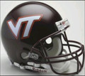Virginia Tech Hokies Full Size Authentic Helmet