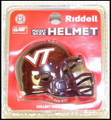 Virginia Tech Hokies Pocket Pro Single Football Helmet