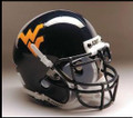 West Virginia Mountaineers Mini Authentic Schutt Helmet