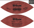 Wilson Official Super Bowl 17 Football Dolphins vs Redskins