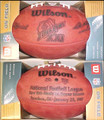 Wilson Official Super Bowl 21 XXI Football
