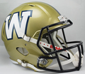 Winnipeg Blue Bombers CFL Full Size Replica Speed Helmet