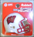 Wisconsin Badgers NCAA Pocket Pro Single Football Helmet