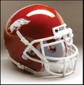 Arkansas Razorbacks Mini Authentic Schutt Helmet