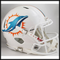 Miami Dolphins 2013 Authentic Revolution Speed Football Helmet