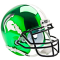 Michigan St Spartans Mini Authentic Helmet Schutt Chrome