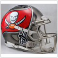 Tampa Bay Buccaneers Authentic Speed Football Helmet - New 2014