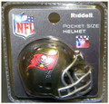 Tampa Bay Buccaneers 2014 Pocket Pro Revolution Helmet w/ Grey Mask