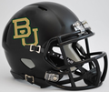 Baylor Bears Matte Black Mini Speed Helmet