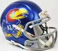 Kansas Jayhawks Mini Speed Helmet
