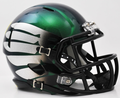 Oregon Ducks Titanium Thunder Green Mini Speed Helmet