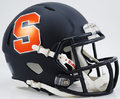 Syracuse Orange Matte Navy Mini Speed Helmet