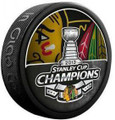 Chicago Blackhawks 2013 Stanley Cup Champions NHL Team Logo Model Hockey Puck