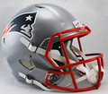 New England Patriots NFL Replica SPEED Full Size Helmet