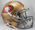 San Francisco 49ers NFL Replica SPEED Full Size Helmet