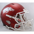 Arkansas Razorbacks NCAA Full Size Replica Speed Helmet
