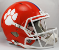 Clemson Tigers NCAA Full Size Replica Speed Helmet