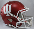 Indiana Hoosiers NCAA Full Size Replica Speed Helmet