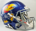 Kansas Jayhawks NCAA Full Size Replica Speed Helmet