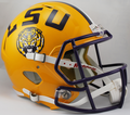 LSU Tigers NCAA Full Size Replica Speed Helmet