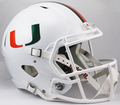 Miami Hurricanes NCAA Full Size Replica Speed Helmet