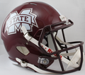 Mississippi State Bulldogs NCAA Full Size Replica Speed Helmet