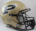 Purdue Boilermakers NCAA Full Size Replica Speed Helmet