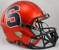 Syracuse Orangemen NCAA Full Size Replica Speed Helmet