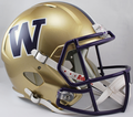 Washington Huskies NCAA Full Size Replica Speed Helmet