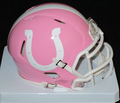 Indianapolis Colts Pink Mini Speed Helmet