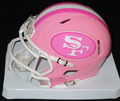San Francisco 49ers Pink Mini Speed Helmet
