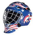Columbus Blue Jackets Franklin NHL Full Size Street Youth Goalie Mask GFM 1500