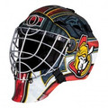 Ottawa Senators Franklin NHL Full Size Street Youth Goalie Mask GFM 1500