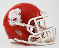 North Carolina State Wolfpack Red Mini Speed Helmet