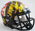 Maryland Terrapins Pride Mini Speed Football Helmet