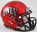 University of Nevada Las Vegas UNLV Runnin Rebels Satin Red Mini Speed Helmet