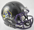 East Carolina Pirates Matte Black Mini Speed Helmet