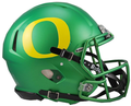 Oregon Ducks Apple Green Mini Speed Helmet