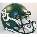 Baylor Bears Matte Green Authentic Speed Helmet
