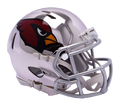"2018 ""CHROME"" Edition ARIZONA CARDINALS NFL Riddell SPEED Mini Footb"