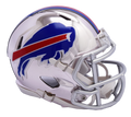 "2018 ""CHROME"" Edition BUFFALO BILLS NFL Riddell SPEED Mini Footb"