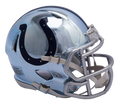 "2018 ""CHROME"" Edition INDIANAPOLIS COLTS NFL Riddell SPEED Mini Football Helmet"